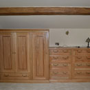 Bespoke bedroom furniture in Chester home